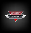 car auto automotive logo template automotive vector image vector image