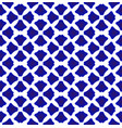 chinese blue pattern vector image