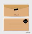 Envelopes set Blank mockups vector image vector image