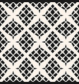 geometric seamless pattern abstract monochrome vector image