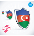 I Love Azerbaijan Flag vector image vector image