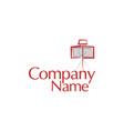 photography modern camera logo design vector image vector image