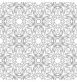 Seamless black and white decorative pattern for vector image vector image