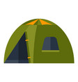 tent image or icon for tourism vector image