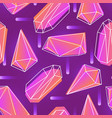 abstract seamless pattern with neon colored vector image vector image