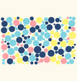 disco lights dots pattern on white background vector image