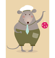 Funny mouse vector image vector image