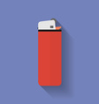 Icon of lighter Flat style vector image