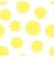lemon background seamless pattern vector image vector image