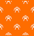 machine pattern seamless vector image vector image
