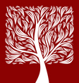 square tree vector image vector image