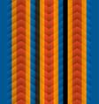 chevron pattern seamless arrows geometric design vector image