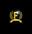 alphabet logo icon template vector image vector image