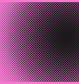 halftone dot background pattern template vector image vector image
