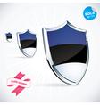 I Love Estonia Flag vector image vector image