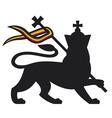 lion judah vector image vector image