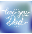 love you parents vector image