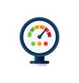 pressure water meter icon simple vector image vector image
