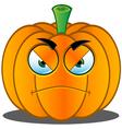 Pumpkin Face 5 vector image vector image