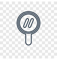 search concept linear icon isolated on vector image vector image