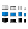 Technology electronics set vector image