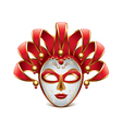 venice mask isolated vector image vector image