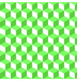 abstract seamless pattern green grid vector image