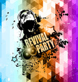 Attractive Club Disco Flyer background vector image vector image