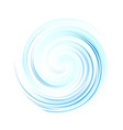 blue swirl cream texture background blue vector image