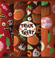 halloween collection fear creepy vector image vector image
