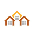 home sign and symbol logo vector image vector image