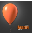 Photorealistic Air Balloons Happy Birthday vector image vector image