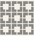 seamless pattern with stripes abstract vector image vector image