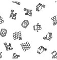waterpromaterials seamless pattern vector image