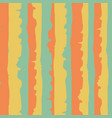 wavy stripe seamless pattern background vector image vector image