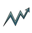 graphic arrow icon vector image vector image