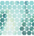 pattern geometric shapes Background with hexagons vector image vector image