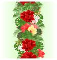 vertical border seamless backgroun vector image vector image