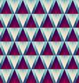retro triangle seamless pattern vector image
