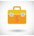 Briefcase single icon vector image