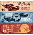 Car Repair Banner Set vector image vector image