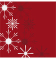christmas and new year background with vector image vector image