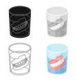 denturesold age single icon in cartoon style vector image