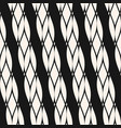 diagonal ropes seamless pattern black and white vector image