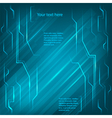 electronics page background blue light bright line vector image vector image