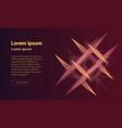 modern web design background vector image