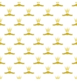 Wheats Ribbon Seamless Pattern vector image vector image