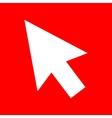 Arrow sign vector image vector image