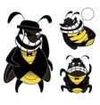 cockroach gang cartoon vector image vector image