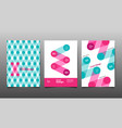 cover design template abstract background vector image vector image